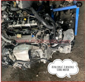 Opel Astra 1.0 Benzinli Turbo Motor
