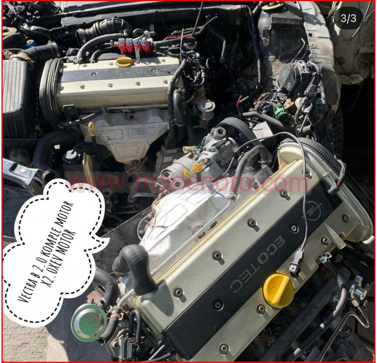 Opel Vectra B 2.0 XEV Motor