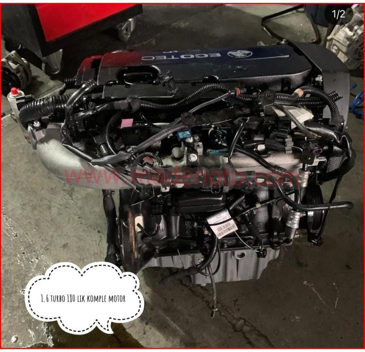 Opel insignia Çıkma 1.6 Turbo Motor