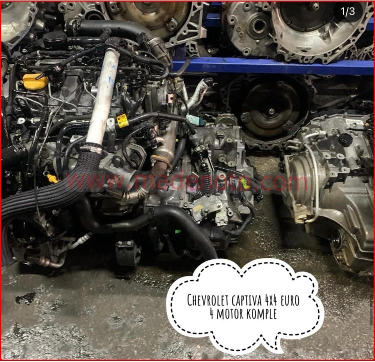 Chevrolet Captiva 4x4 Euro 4 Komple Motor
