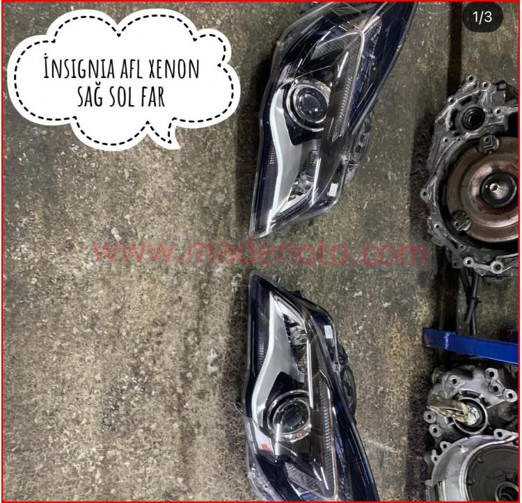 Opel insignia AFL Xenon Sağ Sol Far