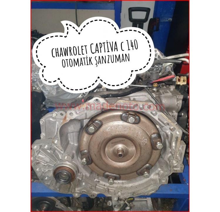Chevrolet Captiva C140 Otomatik Şanzıman