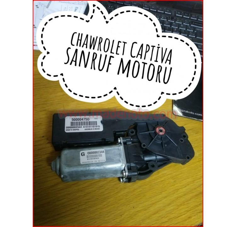 Chevrolet Captiva Sunroof Motoru