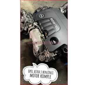 Opel Astra J Benzinli Motor