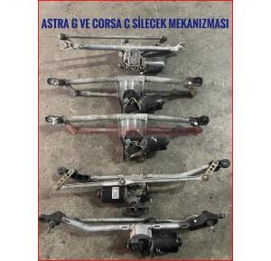 Opel Astra G Corsa C Silecek Mekanizması