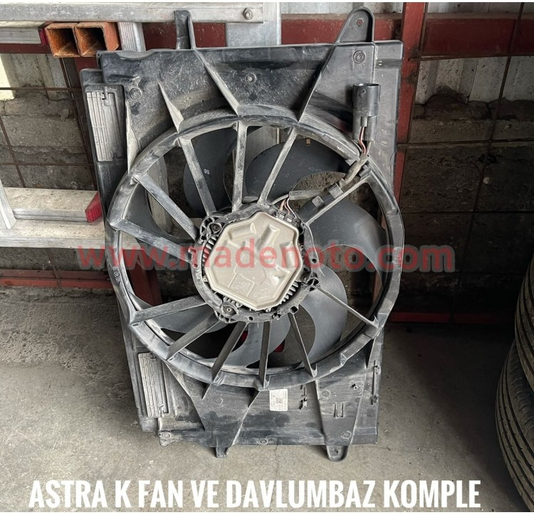 Opel Astra K Fan Davlumbaz