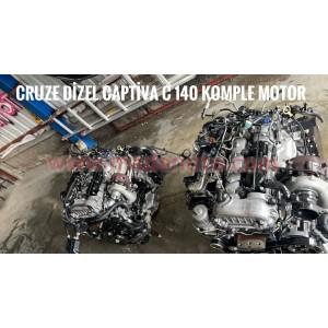 Cruze C140 Dizel Komple Motor