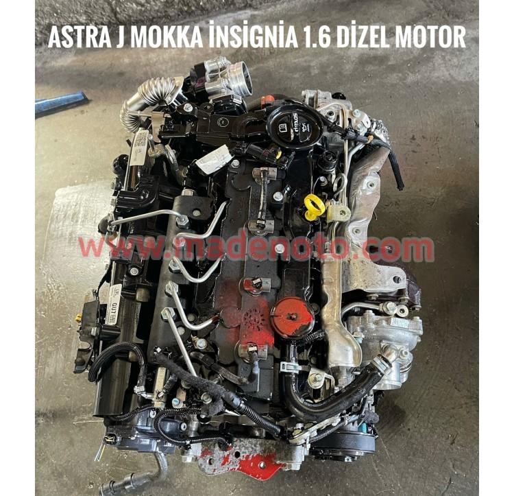 Opel Astra J Çıkma 1.6 Dizel Motor