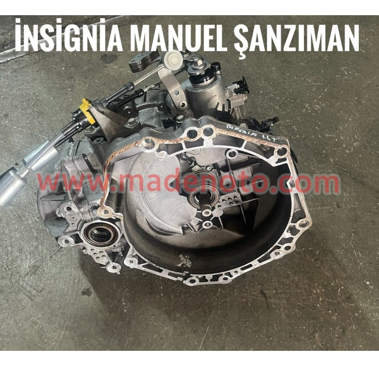 Opel insignia Manüel Şanzıman